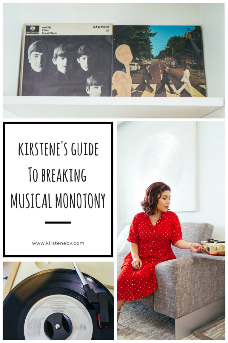 kirstene's guide to breakingmusical monotony